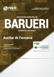 Apostila Prefeitura de Barueri - SP 2019 - Auxiliar de Farmácia