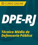 Curso Online DPE-RJ 2019 - Técnico Médio de Defensoria Pública