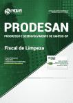 Apostila Download PRODESAN-SP 2019 - Fiscal de Limpeza