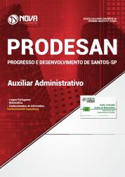 Apostila PRODESAN-SP 2019 - Auxiliar Administrativo
