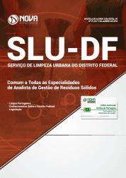 Apostila Download SLU-DF 2019 - Comum a Todas as Especialidades de Analista de Gestão de Resíduos Sólidos