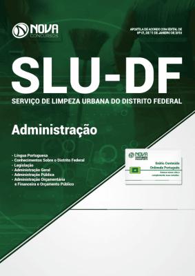 Apostila Download SLU-DF 2019 - Administração