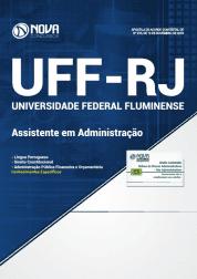 Apostila UFF-RJ 2019 - Assistente em Administração