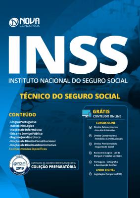 Apostila INSS 2019 - Técnico do Seguro Social
