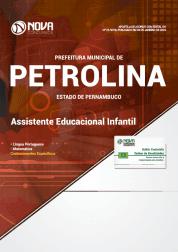 Apostila Prefeitura de Petrolina - PE 2019 - Assistente Educacional Infantil
