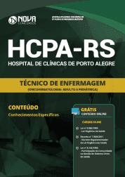Apostila HCPA-RS 2019 - Técnico de Enfermagem (OncoHematologia: Adulto e Pediátrica)