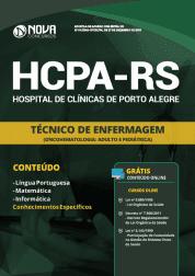 Apostila Download HCPA-RS 2019 - Técnico de Enfermagem (OncoHematologia: Adulto e Pediátrica)
