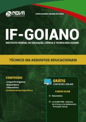 Apostila Download IF Goiano 2019 - Técnico em Assuntos Educacionais