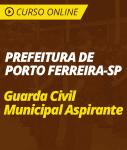 Curso Online Prefeitura de Porto Ferreira - SP 2019 - Guarda Civil Municipal Aspirante