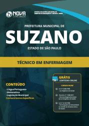 Apostila Prefeitura de Suzano - SP 2019 - Técnico em Enfermagem