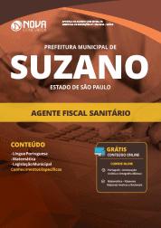 Apostila Prefeitura de Suzano - SP 2019 - Agente Fiscal Sanitário