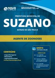 Apostila Prefeitura de Suzano - SP 2019 - Agente de Zoonoses