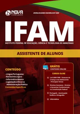 Apostila IFAM 2019 - Assistente de Alunos
