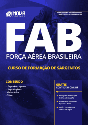 Apostila Aeronáutica (FAB) 2019 - Curso de Formação de Sargentos - EEAR