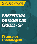 Curso Online Prefeitura de Mogi das Cruzes - SP 2019 - Técnico de Enfermagem