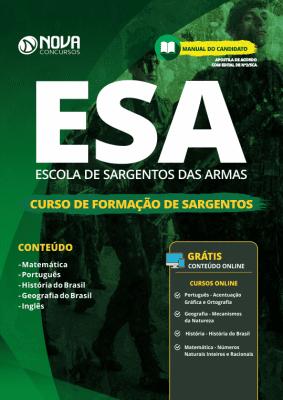 Apostila ESA 2019 - Curso de Formação de Sargentos (CFS)