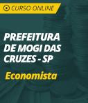 Curso Online Prefeitura de Mogi das Cruzes - SP  - Economista
