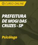 Curso Online Prefeitura de Mogi das Cruzes - SP 2019 - Psicólogo