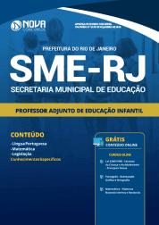 Apostila Prefeitura do Rio de Janeiro - RJ (SME) 2019 - Professor Adjunto de Educação Infantil