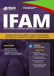 IFAM 2019 - Professor de Ensino Básico, Técnico e Tecnológico (Comum Todas as Áreas)