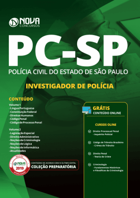 Apostila Download PC-SP 2019 - Investigador de Polícia