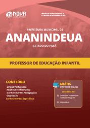 Apostila Prefeitura de Ananindeua - PA 2019 - Professor de Educação Infantil