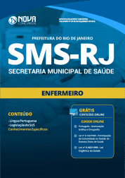Apostila Prefeitura do Rio de Janeiro - RJ (SMS) 2019 - Enfermeiro