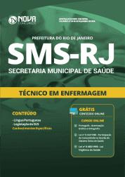 Apostila Download Prefeitura do Rio de Janeiro - RJ (SMS) 2019 - Técnico em Enfermagem