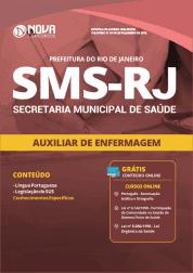 Apostila Download Prefeitura do Rio de Janeiro - RJ (SMS) 2019 - Auxiliar de Enfermagem