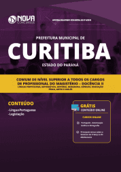 Apostila Prefeitura de Curitiba - PR 2019 - Comum de Nível Superior a Todos os Cargos de Profissional do Magistério - Docência II