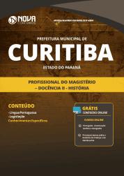Apostila Prefeitura de Curitiba - PR 2019 - Profissional do Magistério - Docência II - História