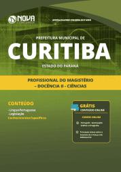 Apostila Prefeitura de Curitiba - PR 2019 - Profissional do Magistério - Docência II - Ciências