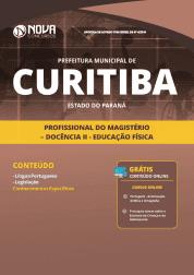 Apostila Download Prefeitura de Curitiba - PR 2019 - Profissional do Magistério - Docência II - Educação Física