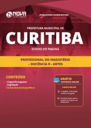 Apostila Prefeitura de Curitiba - PR 2019 - Profissional do Magistério - Docência II - Artes