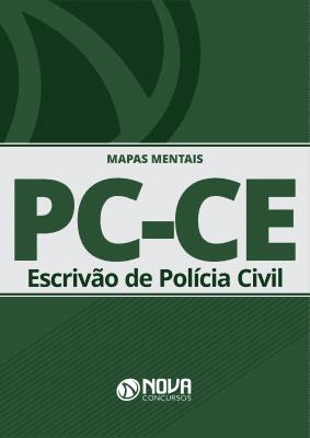 Mapas Mentais PC-CE 2019 - Escrivão (PDF)