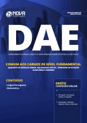 Apostila DAE de Santa Bárbara D'Oeste - SP 2019 - Comum aos Cargos de Nível Fundamental