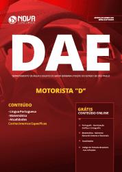 Apostila DAE de Santa Bárbara D'Oeste - SP 2019 - Motorista D
