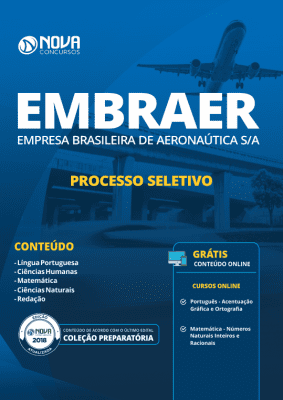 Apostila Download EMBRAER 2019 - Processo Seletivo