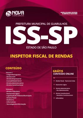 Apostila ISS Guarulhos - SP 2019 - Inspetor Fiscal de Rendas