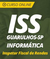Curso Online de Informática para o ISS Guarulhos - SP 2019 - Inspetor Fiscal de Rendas