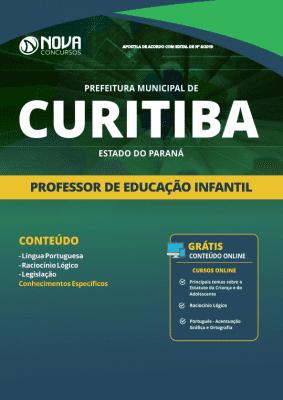 Apostila Prefeitura De Curitiba Pr 2019 Professor De Educação Infantil