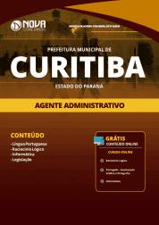 Apostila Prefeitura de Curitiba - PR 2019 - Agente Administrativo