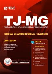 Apostila TJ-MG 2019 - Oficial de Apoio Judicial (Classe D)