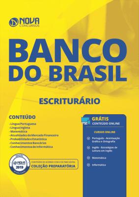 Apostila Download Banco do Brasil 2019 - Escriturário