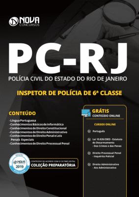 Apostila PC-RJ 2019 - Inspetor de Polícia de 6ª Classe