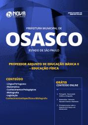 Apostila Download Prefeitura de Osasco - SP 2019 - Professor Adjunto de Educação Básica II - Educação Física