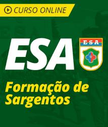 Pacote Completo ESA - Formação de Sargentos