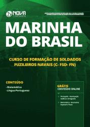 Apostila Marinha do Brasil 2019 - Curso de Formação de Soldados Fuzileiros Navais