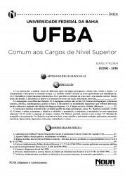 Download Apostila UFBA Pdf - Comum aos cargos de Nível Superior