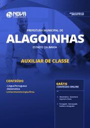 Apostila Prefeitura de Alagoinhas - BA 2019 - Auxiliar de Classe